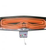 Kupatilska grejalica snage 1200/800W prohrom  (sa poteznim prekidačem)